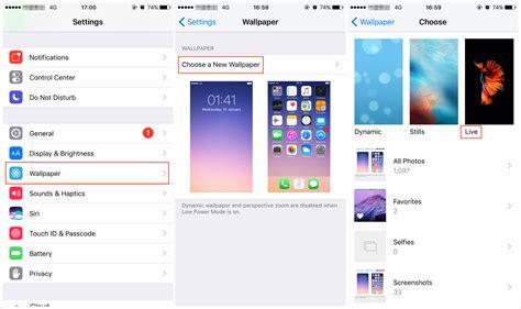 fix iphone xs  wallpaper  working