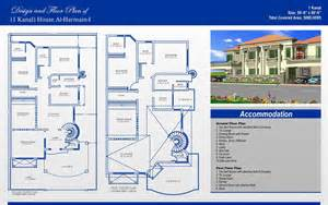 Rules For Home Design Story 1 kanal house plans civil engineers pk