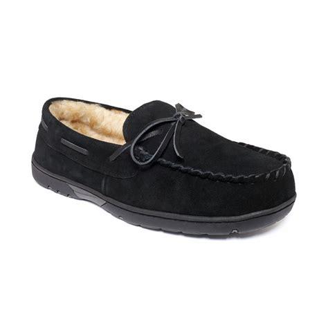 rockport moccasin slippers s rockport rockport lyst