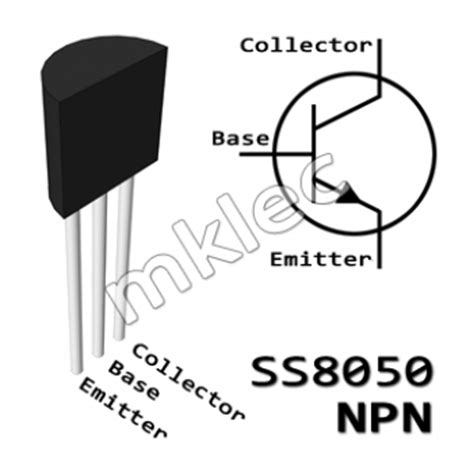 transistor bc547 operation ss8050 npn transistor