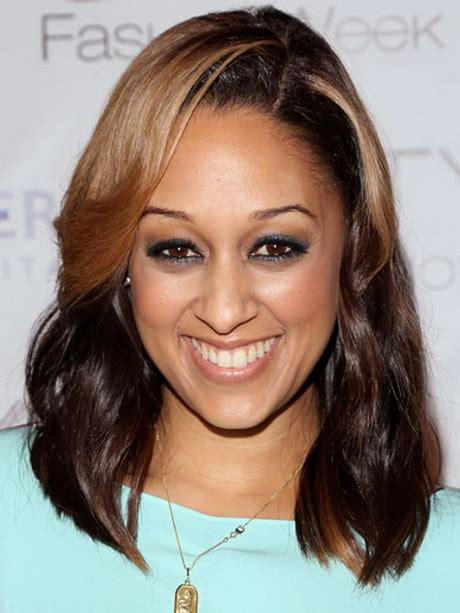 tia mowry long straight hair extensions hairstyle hot african american weave side part hairstyles
