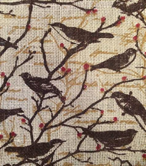 printed burlap upholstery fabric 17 best images about burlap on pinterest burlap valance