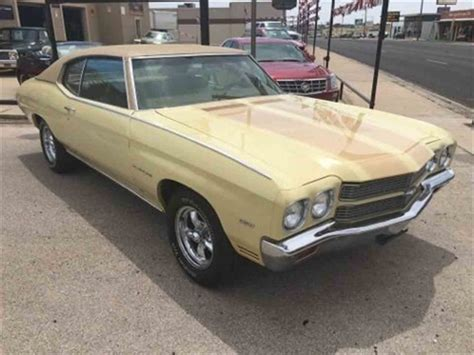 for sale malibu 1970 chevrolet malibu for sale classiccars cc 984283