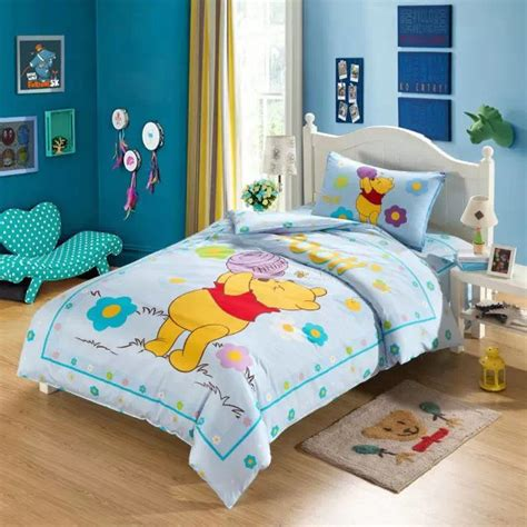 winnie the pooh bedroom sets light blue winnie the pooh comforter bedding sets single