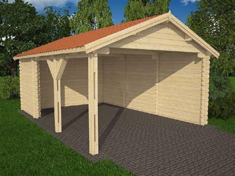 garage bois en kit 174 garage bois en kit kit garage bois de m avec espace