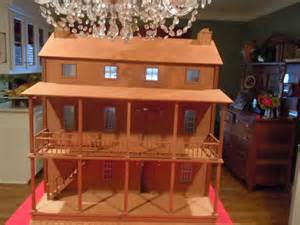 I Just Bought An Antique Doll House From An Estate Sale It Is Three Stories 36 Quot High