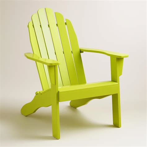 Adirondack Chairs World Market by Apple Green Adirondack Chair World Market