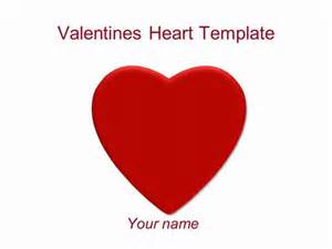 valentine s heart powerpoint template