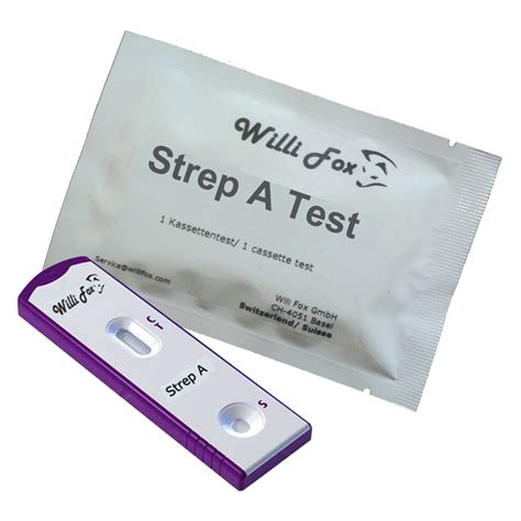 willi fox diagnostics willi fox strep a test