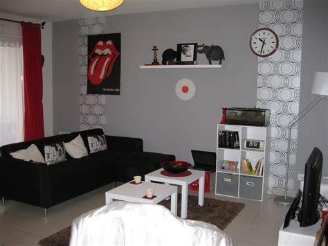 Idee Deco Mur Gris by Id 233 E D 233 Co Salon Avec Mur Gris