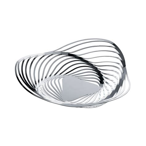 delightful Alessi Stainless Steel Fruit Bowl #1: trinity-fruit-bowl-stainless-steel.jpg