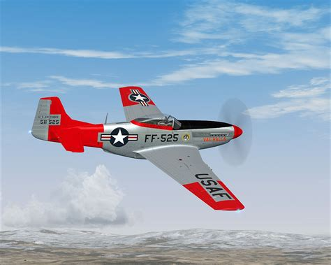 p 51d mustang n151af quot val halla quot for fsx