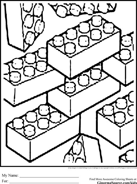 lego brick coloring page lego pieces coloring pages az coloring pages