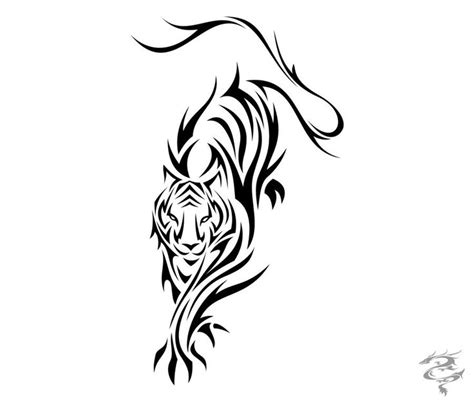 running girl tattoo designs 35 best tribal tiger tattoos designs