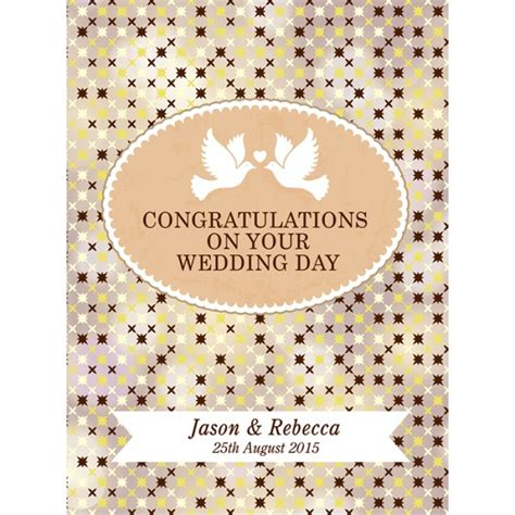 congratulations on ur wedding day congratulations on your wedding day wine gift