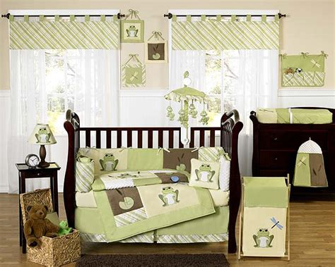 Baby Nursery Bedding Set Baby Crib Nursery Bedding Set 226 Leap Frog From Jojo Design Kidsomania