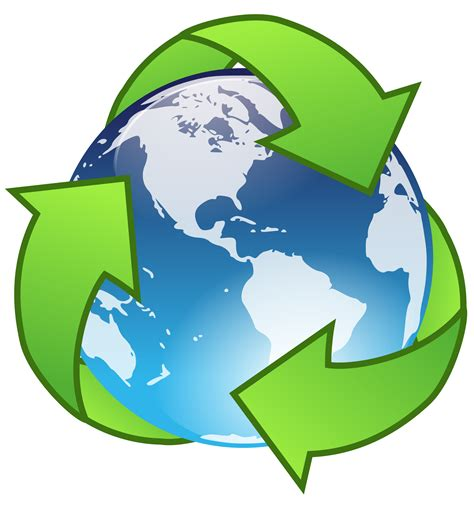 art of recycle clipart crystal earth recycle