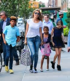 Photos photos heidi klum is seen in nyc with her kids zimbio