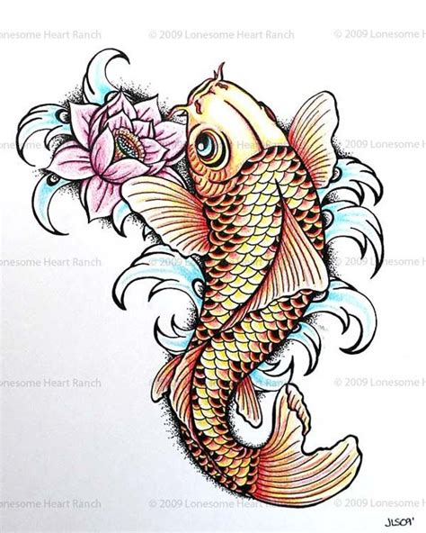 koi and lotus tattoo designs 30 koi fish designs with meanings