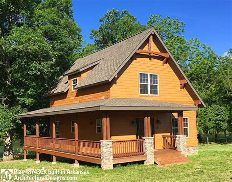 classic small rustic home plan 18743ck architectural designs house plans
