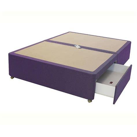 Space Base Bed Frame 2 Drawer Divan Base
