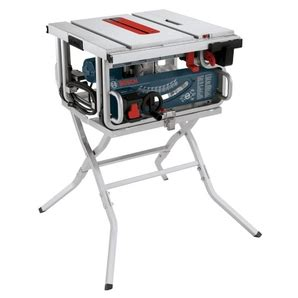 bosch 10 quot 15 portable table saw with stand home
