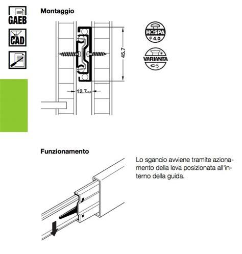 guide a sfere per cassetti guide a sfera per cassetti 350 mm tuttoferramenta