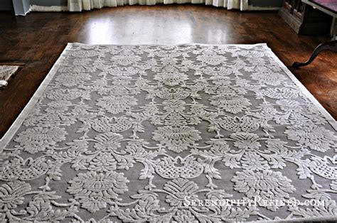 Grey Dining Room Rug Serendipity Refined Gray And Ivory Dining Room Area Rug