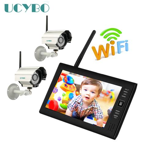 7 lcd 4ch wireless wifi cctv dvr digital