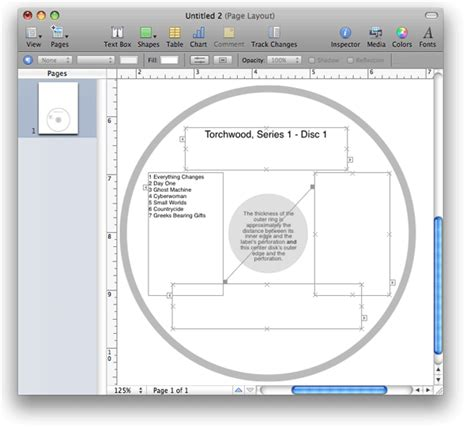 cd dimensions template doug s applescripts for itunes 187 pages cd label v2 0