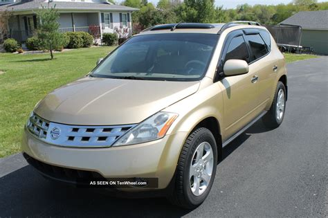 nissan gold 2003 nissan murano autos post