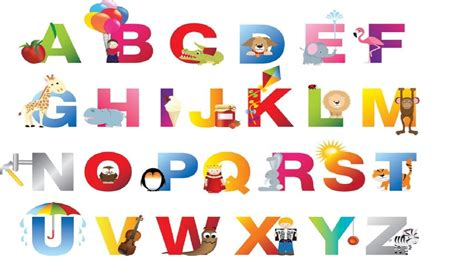 Kid Letters by A Alphabets With Pictures For Www Pixshark