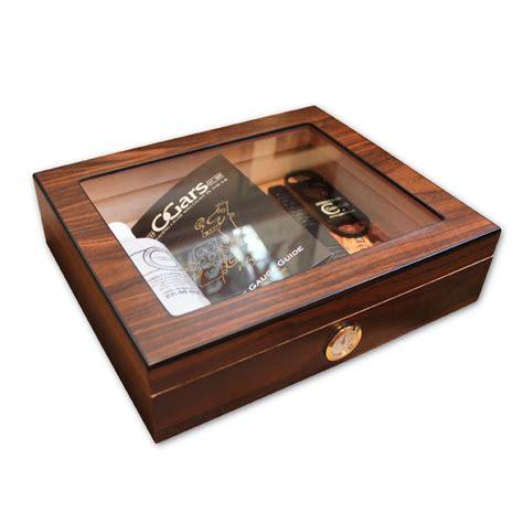 cigar humidor diego glass top cigar humidor 20 cigars capacity