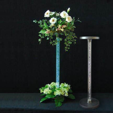 Cheap Glass Vases For Wedding Centerpieces E Risers Centerpiece Light Base 171 Wholesale Flowers Amp Supplies