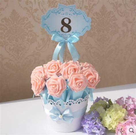 Pot Paper Flower Blue paper flower pot promotion shop for promotional paper