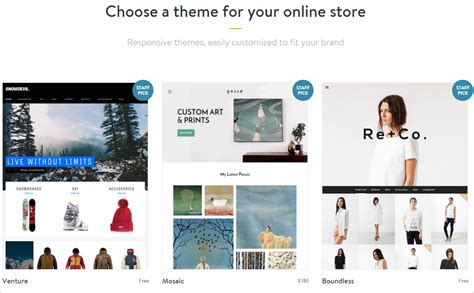 shopify themes 2016 how to sell on shopify a definitive beginner s guide