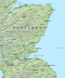 Physical map of scotland royalty free editable vector map maproom