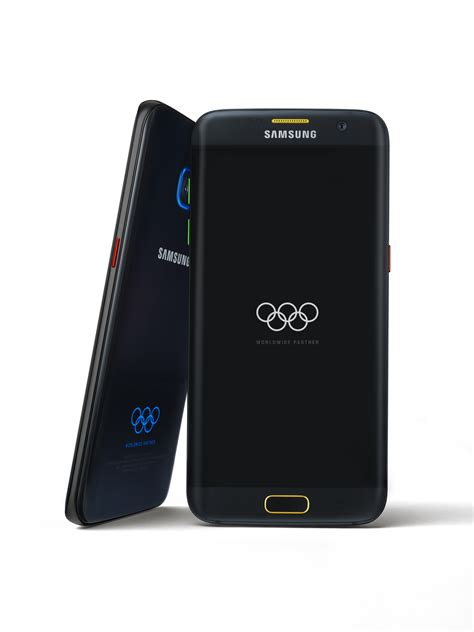 samsung announces galaxy s7 edge olympic limited edition samsung us newsroom