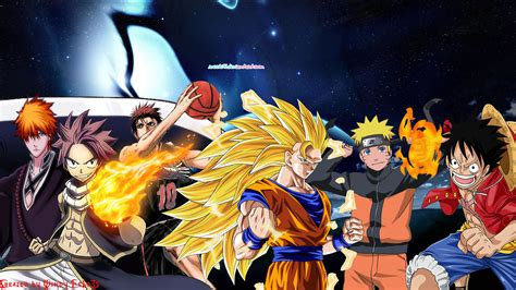 V Anime Collaboration Femme by Anime Collaboration Wallpaper 2 Goku And Friends By