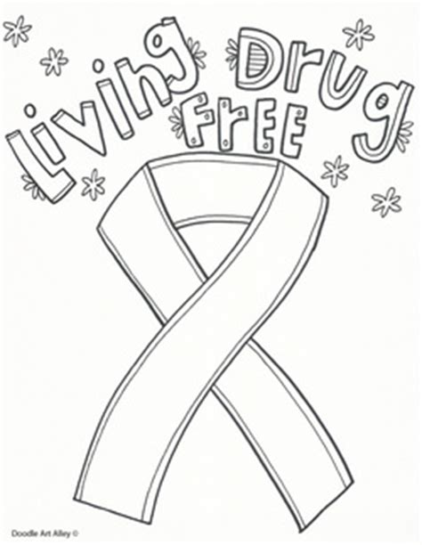 coloring pages for ribbon week ribbon week coloring pages and printables classroom