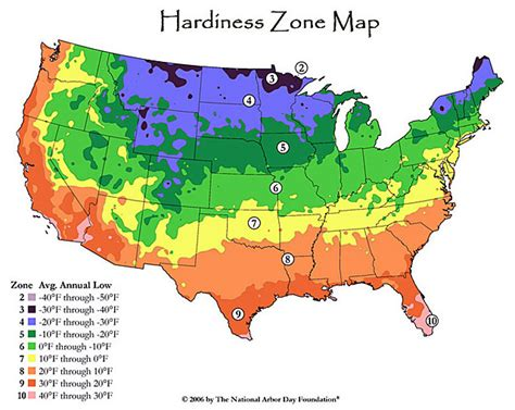 Garden Zones Ohio Hardiness Zone Map For Succulent Plants