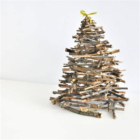 Tree Branch Decorations In The Home diy tabletop christmas tree decorations for your home