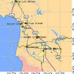 nipomo california ca population data races housing
