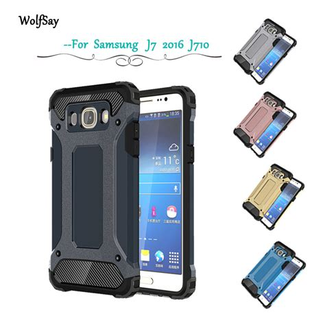 Anti Anti Shock For Samsung Galaxy J7 2016 Free Iring aliexpress buy wolfsay for samsung galaxy j7 2016 cover rubber pc for