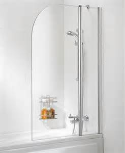 Curved Shower Screens Over Bath Lakes Curved Bath Shower Screen 975mm Ss20 05