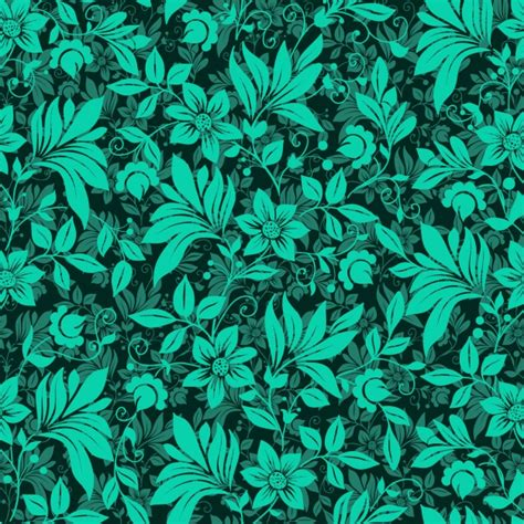 flower pattern green flower background vectors photos and psd files free