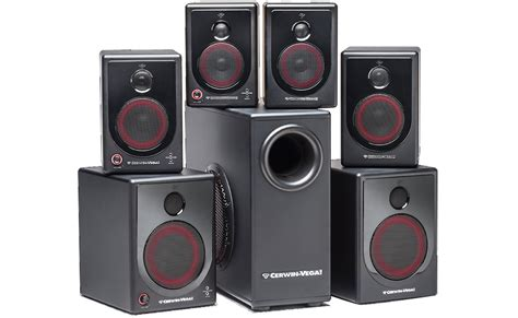 cerwin sl series home theater speaker system