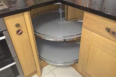 A working Revo 90 kitchen corner base unit,   Kitchen