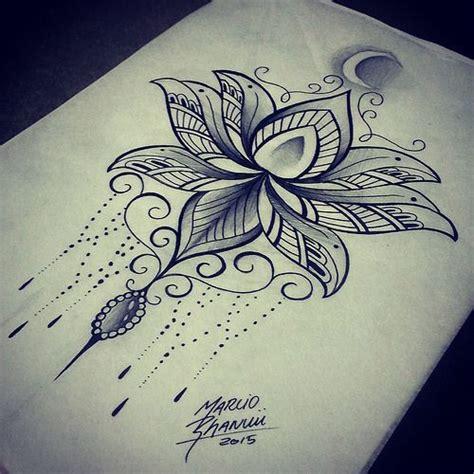 tattoo mandala na barriga lotus mandala google search tattoos pinterest