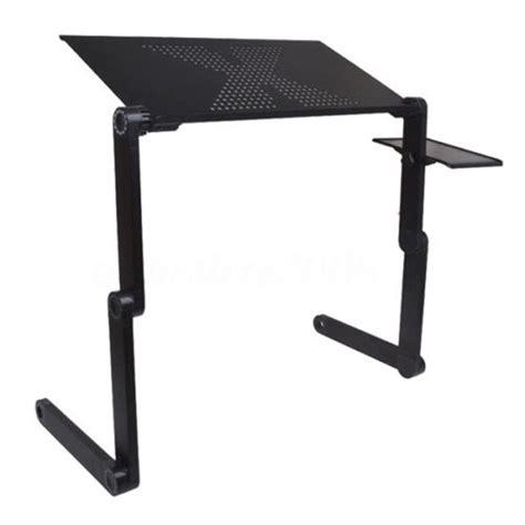 black 360 176 adjustable folding laptop table desk bed computer tray stand 663862364552 ebay